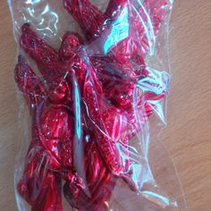 Angelitos Rojos x 4 unidades.