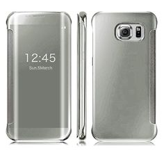 DN-TECHNOLOGY® Samsung Galaxy S7 EDGE Case-Samsung S7 EDGE Case ***All New Auto Sleep Wake Function *** Clear S view Window Flip Case - SILVER D & N http://www.amazon.co.uk/dp/B01ALWW478/ref=cm_sw_r_pi_dp_A5nRwb0EXDGXN