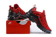 sale retailer 06dd2 ce5b6 Drake Reveals Nike Air Max Plus For Stage TN 2019 Bright Red Black Sneakers  Men s Running Shoes NIKE-CIU011996