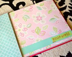 God made 3 quite baby book diy parenting with love pink avenue diy baby book solutioingenieria Images