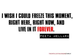 I wish moments like these could last forever. <3 HUNGER GAMES. PEETA MELLARK. CATCHING FIRE. OHMYGOD.