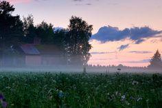 Summer Nights, Finland, Summertime, Northern Lights, River, Celestial, Sunset, Nature, Outdoor