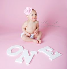baby's 1st birthday photo shoot ideas