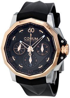 Corum Admirals Cup Challenger 44 Rubber Strap Watch 753.771.24/F371 AN16 $8,715