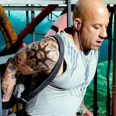 The reset of the xXx series is enjoyably ridiculous but visually incoherent. Vin Diesel, Josh Henderson, Return Of Xander Cage, Action Movie Stars, Natural Bodybuilding, Film Review, Chest Tattoo, Fast And Furious, John Wick