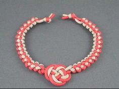 Fusion Knot Necklace  The Fusion Knot Guy has great tutorials!!