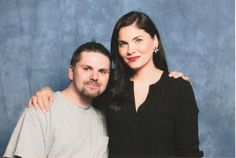 With Jodi Lyn O'Keefer from The Vampire Diaries, Prison Break &  The Big Bang Theory.