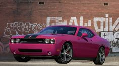 Pink Cars: Pink Dodge Challenger - Awesome Girly Cars & Girly Stuff!