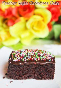 Easy chocolate cake recipe | How to make chocolate cake recipe