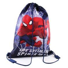 Marvel Boys - Ultimate Spiderman - Gym Sack - Navy - One Size / Navy