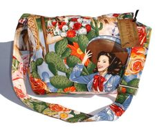 Mexican Inspired Messenger Bag by VintageGaleria on Etsy