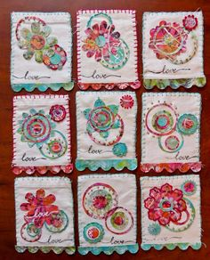 By Debi Boring for The Fabric Patch Swap 2016