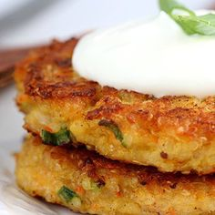 Quinoa Burgers… for when you're feeling meatless.  I want to try this.
