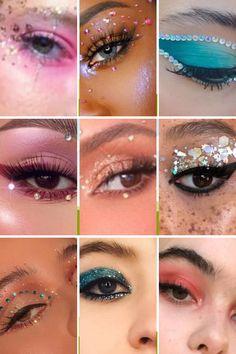 Edgy Makeup, Makeup Eye Looks, Eye Makeup Art, Simple Makeup, Eyeshadow Makeup, Natural Makeup, Makeup Brushes, Makeup Trends, Makeup Inspo