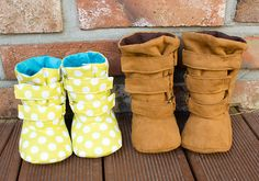 no 670 Ainsley Baby Boots PDF Sewing Pattern by sewingwithme1