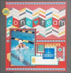 Madeline's Gallery: Zone Team *Scraptastic April*