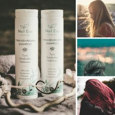 """No:1 Eco® Tyrni-kehäkukka shampoo✨""""Hiukset ilmavat, päänahka ei kutissut, mieto hyvä tuoksu, riittoisa. """"  """"Muutaman kerran olen ehtinyt käyttää ja ainakin yhdessä saman sarjan hoitoaineen kanssa toimii!! Hiukseni ovat huonokuntoiset vuosien värjäysten ja blondaamisten myötä, ja kylmän tullen päänahka alkaa hilseilemään. Näiden kanssa hiukset tuntuvat joltain miltä eivät ole aikoihin tuntuneet ja päänahka on hyvässä kunnossa. Suosittelen!!""""  """"Ihanan pehmeät hiukset heti ensimmäisen… Wine, Drinks, Bottle, Drinking, Beverages, Flask, Drink, Jars, Beverage"""