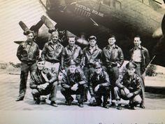 "379th BG Kimbolton. 1st Lt. Elton ""Pete"" Hoyt. AC42-29876 ""Battling Bobbie"""