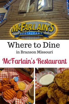 McFarlain's Family Restaurant is a Branson family favorite that brings the tastes of the Ozarks directly to your table. Don't forget to start off with the famous honey cornbread and fried green tomatoes. Branson Missouri Restaurants, Family Road Trips, Family Travel, Family Vacations, Marina Inn, Branson Vacation, Road Trip Packing, Christmas Brunch, Honey Cornbread