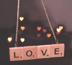 Cool DIY Crafts With Scrabble Tiles. Cute for friend.