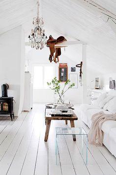 scandinavian white home