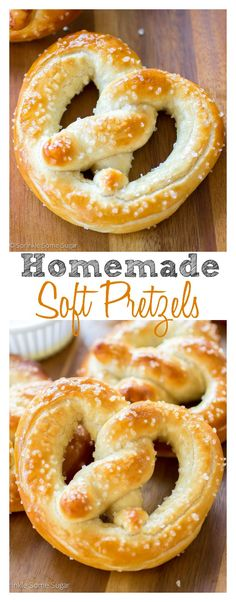Homemade Soft Pretzels. So soft, so buttery, they're better than any food chain!: