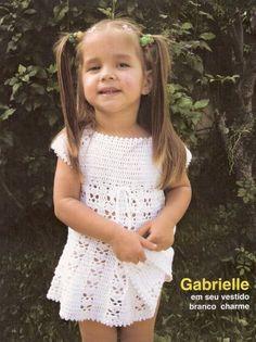 Receita de Crochê Infantil: VESTIDO DE CROCHÊ INFANTIL