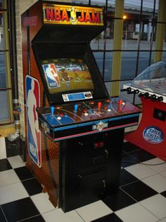 NBA JAM - One of the best arcade games ever created
