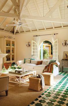 Los suelos perfectos para tu casa: resistentes y bellos · ElMueble.com · Escuela deco
