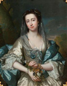 Portrait of a Lady, Detail. by Frans Van Der Mijn - Google Search