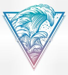 waves drawing - Google Search