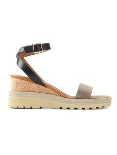 Shop See By Chloé 'Robin' wedge sandals  in Sigrun Woehr from the world's best independent boutiques at farfetch.com. Over 1500 brands from 300 boutiques in one website.