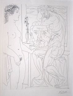 Suite Vollard by Pablo Picasso