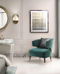 Donnez à votre chambre un côté cosy à l'image de ce fauteuil en velours BRABBU. l décoration d'intérieure l matériaux tendances l inspirations et idées l   Pour plus d'idées, cliquez ici : http://www.brabbu.com/all-products/