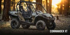 """New 2017 Can-Am Commanderâ""""¢ XTâ""""¢ 1000 ATVs For Sale in Wisconsin. BE PREPARED FOR ANY TYPE OF RIDING Loaded with features and technology that take value to a new level, the Commander XT is built with best-in-class power, a versatile dual-level cargo box, and rider-focused features perfect for the job site or the trails."""