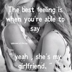 Gay & Lesbian Dating for Women - Find Your Match I Love My Girlfriend, Girlfriend Quotes, Girlfriend Goals, Lesbian Quotes, Lesbian Pride, Qoutes, Lgbt Love, Lesbian Love, Same Love