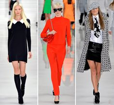 Spring Summer 2014 trends - 60s mod styling
