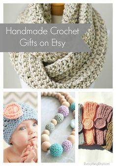 Handmade Crochet Gifts on Etsy l EverythingEtsy.com  #etsy #crochet