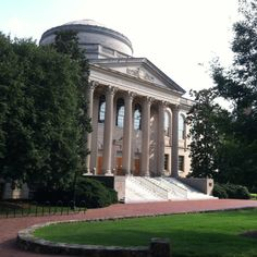 The amazing library at UNC, Chapel Hill. I worked here in periodicals way back before Davis Library was even built.