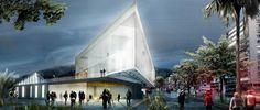 Seis propuestas para el Museo Nacional de la Memoria en Colombia,Plataforma pública. Image Cortesía de L-A-P + Jheny Nieto