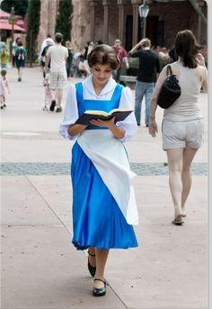 Belle : Disney Princess : she real