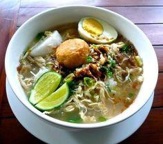 Bahan Resep Masakan Soto Banjar Khas Kalimantan Selatan