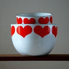 Finnish Heart Bowls