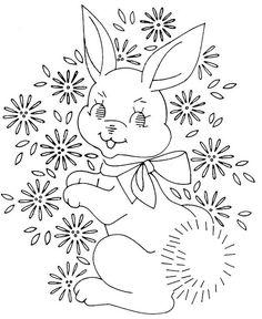 baby quilt Laura wheeler bunny 761 | Flickr - Photo Sharing!