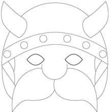 Colouring masks for Carnival time