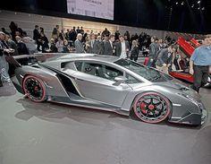 The finest European Supercars at Geneva 2013 - Lamborghini Veneno