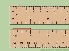 Convert Centimeters to Inches - Converting Metric Units - Convert metric unit instantly. - How to Convert Centimeters to Inches (with Unit Converter) Measurement Activities, Math Measurement, Measurement Conversions, Length Measurement, Unit Conversion Chart, Celsius To Farenheit, Reading A Ruler, Scrappy Quilts, Health Education