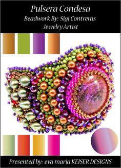 Colorway:  Sigi Contreras  Website:  http://www.sigisart.com/