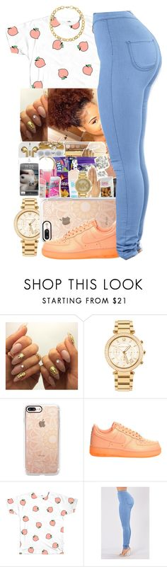 """""""One of Them Eric Bellinger"""" by queen-sugah900 on Polyvore featuring Michael Kors, Casetify, NIKE and Laundry by Shelli Segal"""