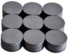 """Darice Small 1//2/"""" 1.27cm Round Flat Adhesive Backed Magnets 12 Pieces Crafts"""
